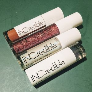 NEW! INC.redible Lip Products (4x)